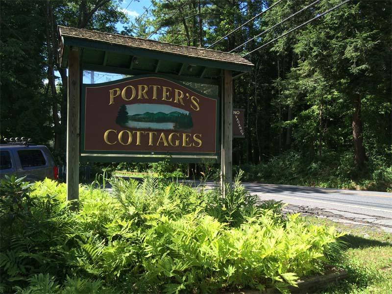 Porter's Cottages on Lake George